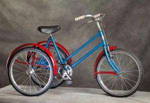 Restored Phillips children tricycle 1950's