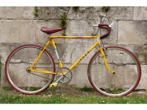 Restored Austrian Puch racer, re-designed as a single speed vintage bike